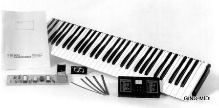 De eerste GINO-MIDI Interface